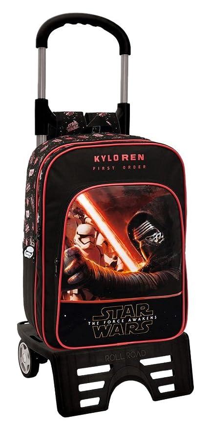 Disney 46424M1 Star Wars Mochila Escolar, 15.6 litros, Color Negro
