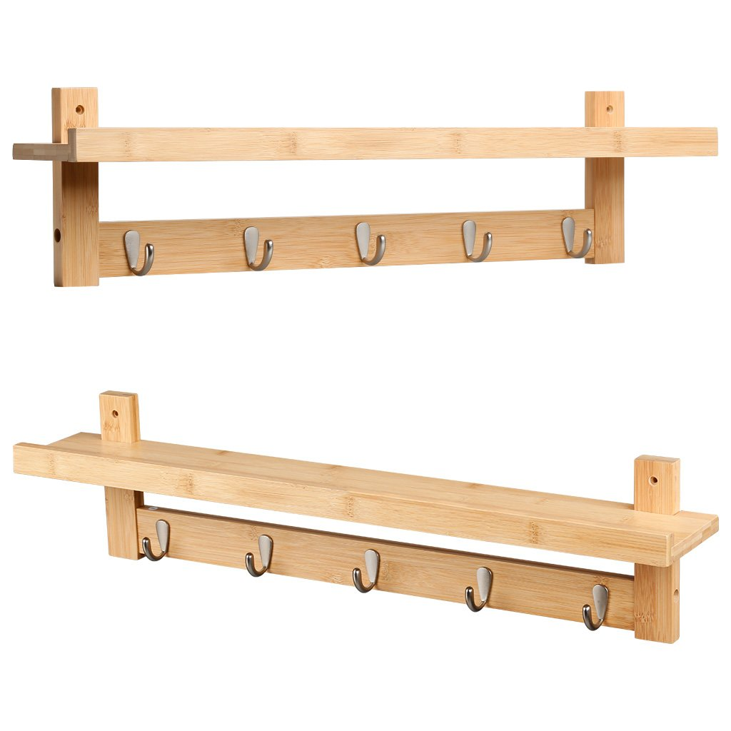storage itm board shelf wooden coat hanging rack rail amp solid with peg wall birch mounted
