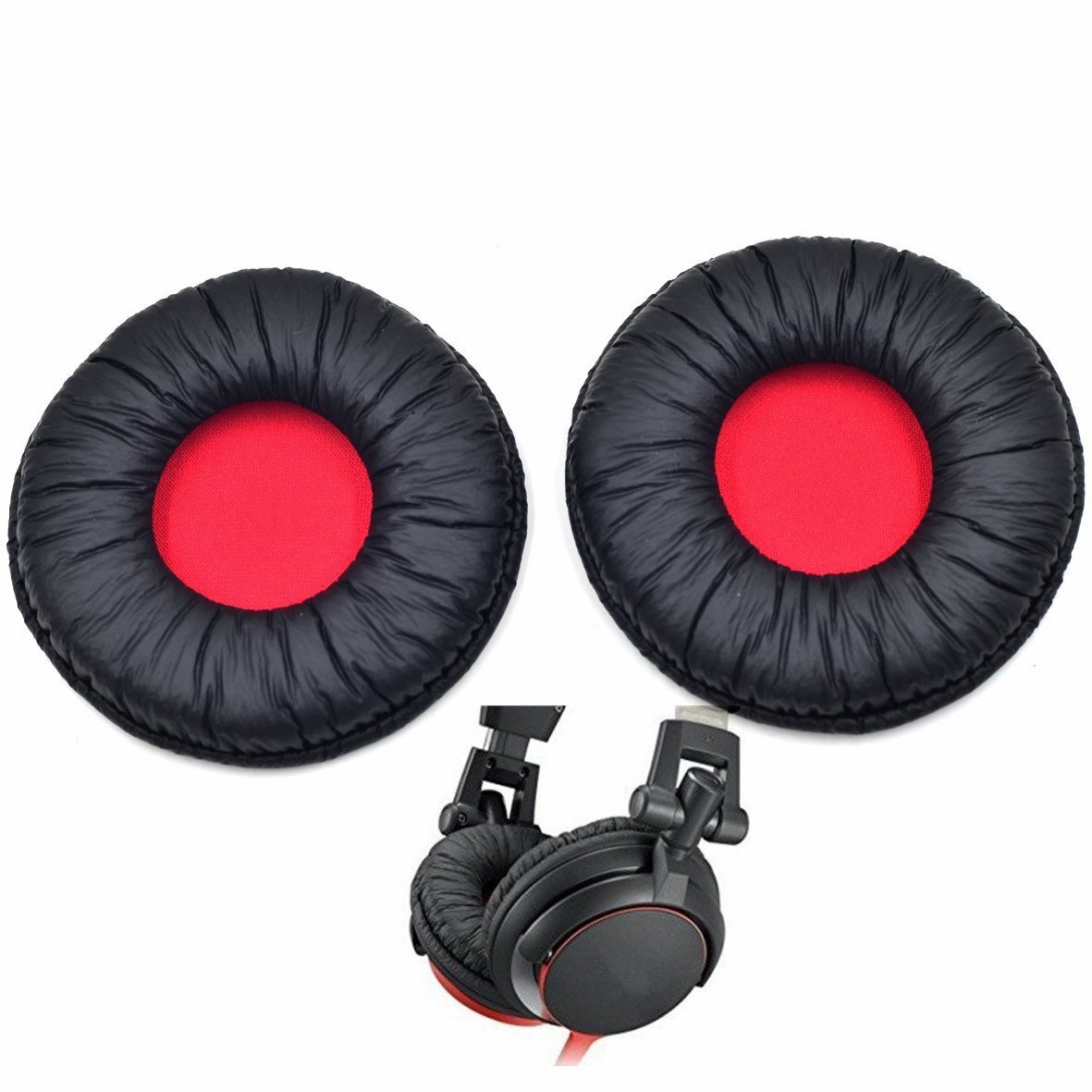 Almohadillas auriculares Sony MDR-V55 (1 par negros)