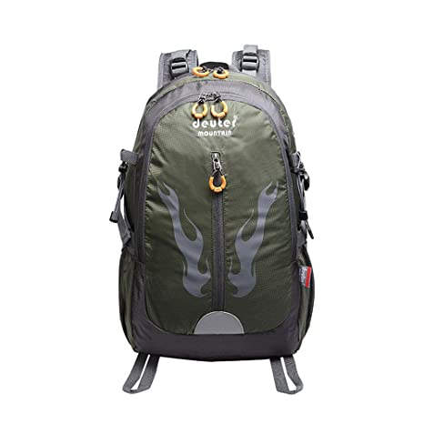 d5810caa727f Amazon.com : Backpack shoulder men and women travel mountaineering a ...