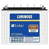 Luminous LPTT12100H 100Ah Solar Tall Tubular Battery (60Months)