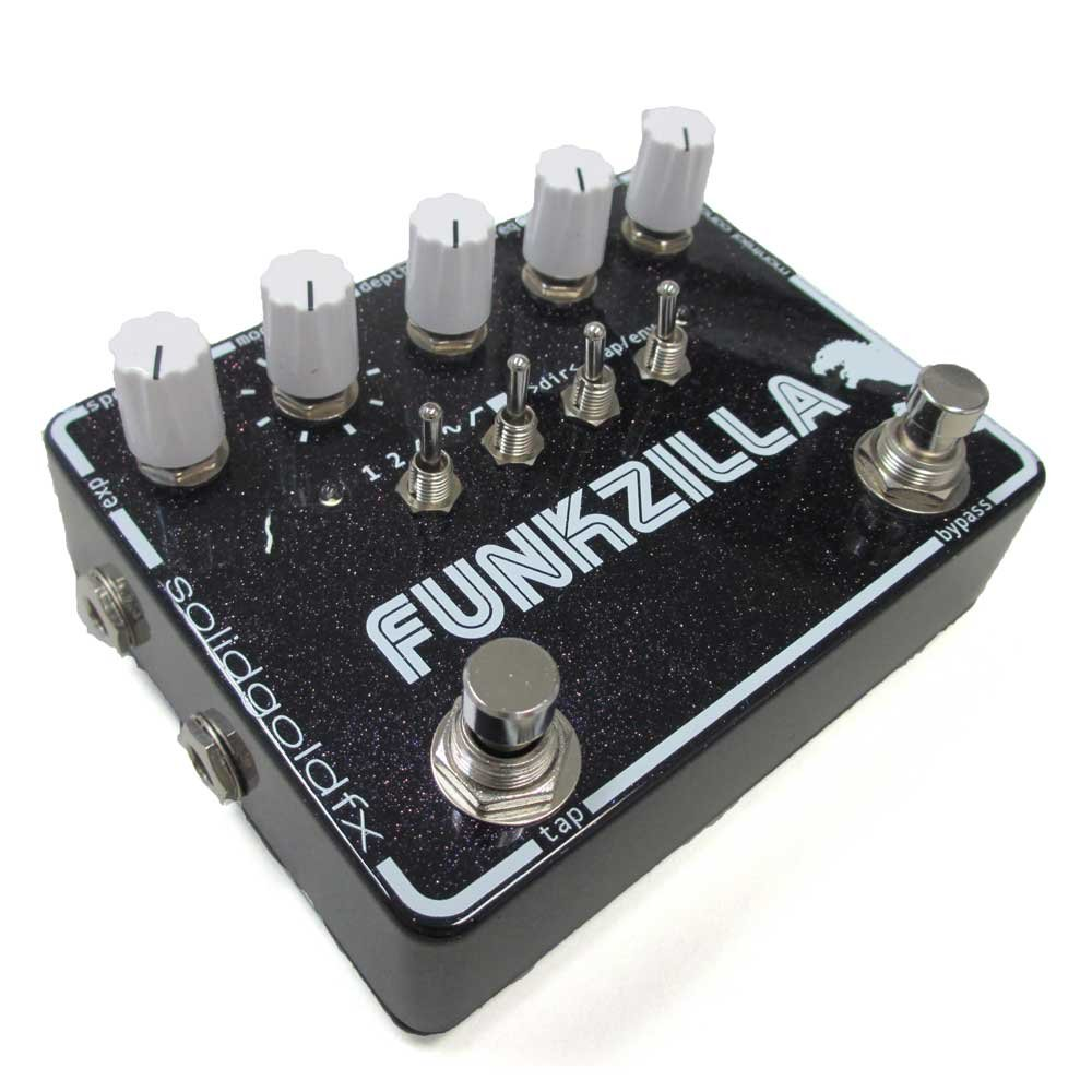 Solid Gold Fx Funkzilla Musical Instruments A Frequency Doubler Effect For Electric Guitar