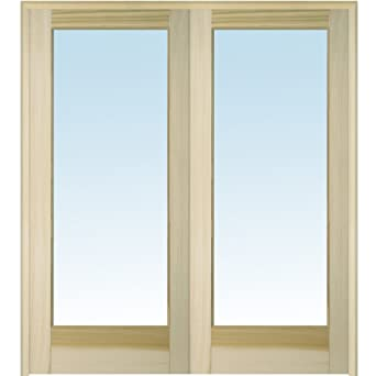 National Door Company Z020057BA Unfinished Poplar Wood 1