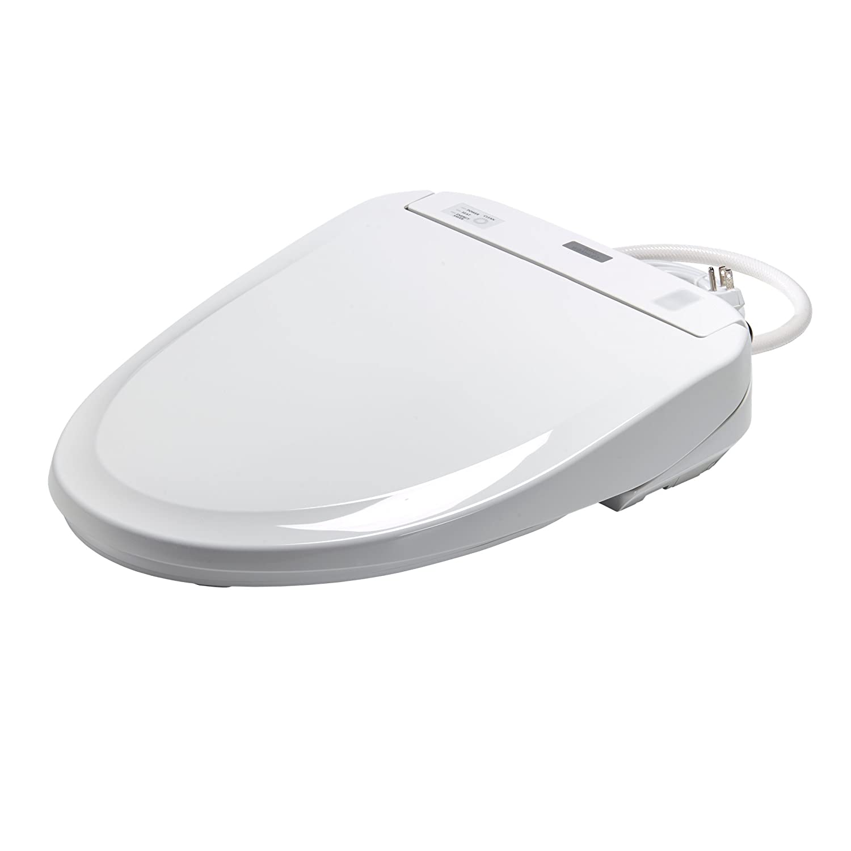 Toto SW584#01 Washlet S350e Toilet Seat-Elongated with Ewater Plus ...