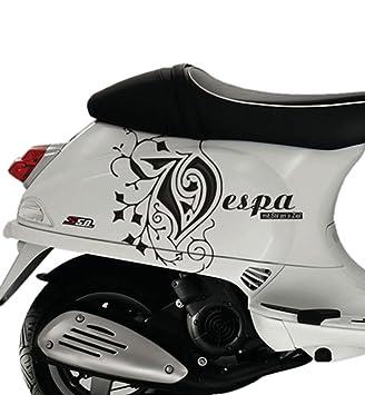 Sticker Kits Aufkleber Für Vespa S Roller Scooter Vinyl Schwarz