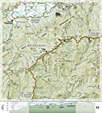 Appalachian Trail, Springer Mountain to Davenport Gap [Georgia, North Carolina, Tennessee] (National Geographic Trails Illustrated Map)