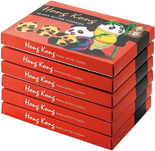 香港・マカオ 土産 香港 パンダクッキー 6箱セット (海外旅行 香港・マカオ お土産)