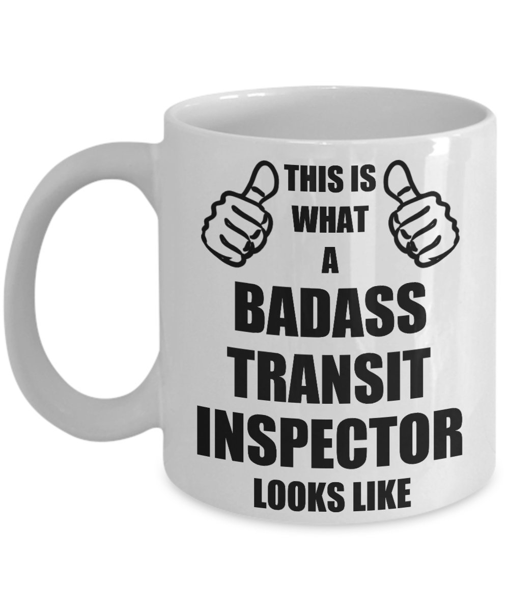 Amazon.com: Funny Gifts For Badass Transit Inspector Husband Hubby ...