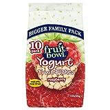 Fruit Bowl Fruit Flakes Raspberry with a Yogurt Coating (10x25g)
