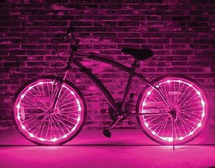 BXT Luz LED flash colorido para las ruedas de bicicleta, Usado ...