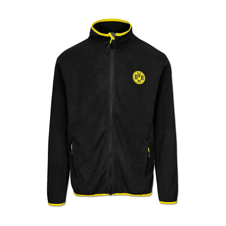 schwarz Borussia Dortmund BVB-Fleecejacke