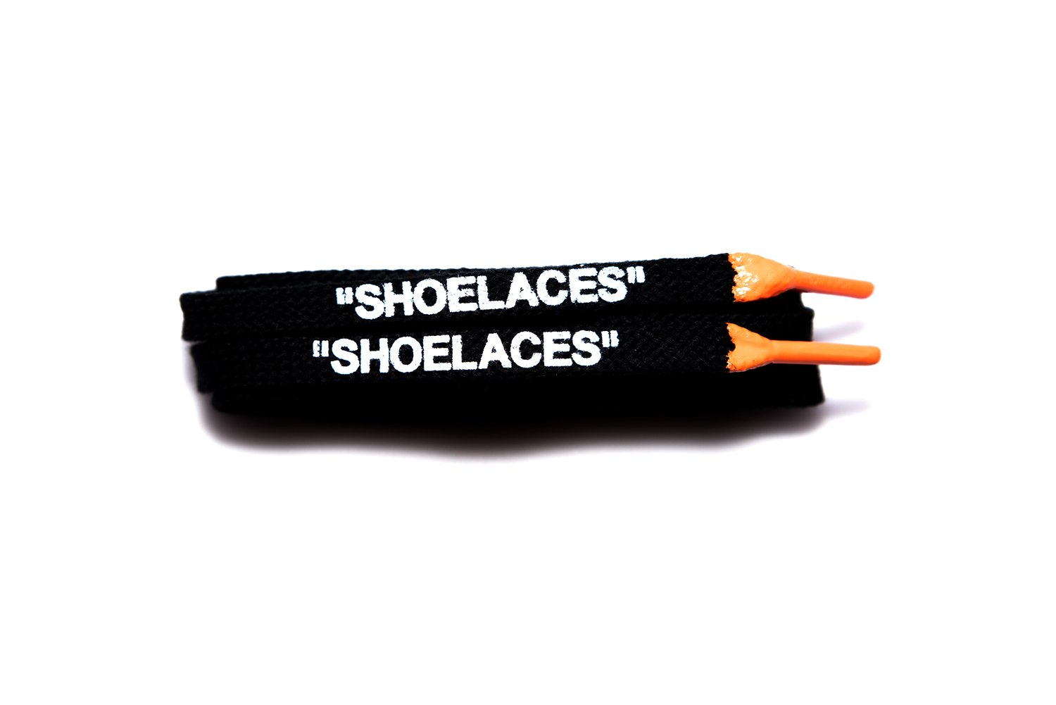 ''Shoelaces'' Custom Printed Shoe Laces with Silicone Tips Oval/Flat Lace Swap Cotton & Polyester Designs