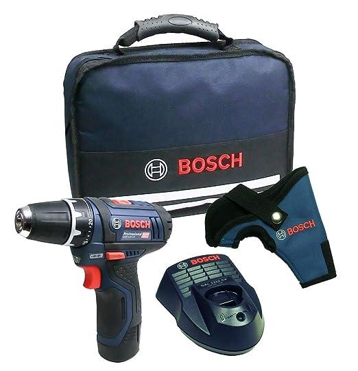 Bosch GSR 12 V-15 Taladro de Batería con la Batería + ...