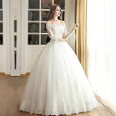 BEAUTIFUI-BRIDE Robe De Mariée des Femmes