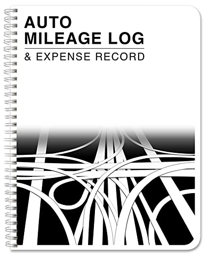 amazon com bookfactory auto mileage log book automobile expense