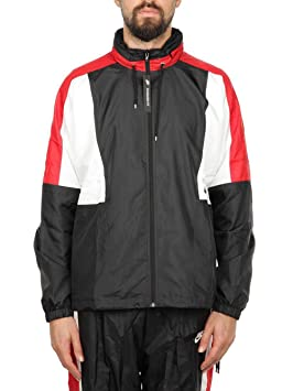 Nike M NSW RE-Issue JKT WVN - Chaqueta, Hombre, Multicolor(Black