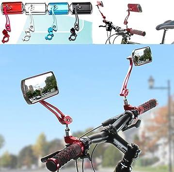 Flexible Quality Rearview Bike Bicycle Handlebar Mirror Rear Back View Mirror