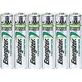Energizer AAA Rechargeable NiMH Battery 800 mAh 1.2V x six (6) Batteries