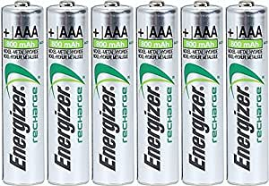 Amazon.com: Energizer AAA Rechargeable NiMH Battery 800