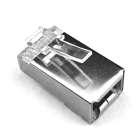 Amtsheftung Cess Metall Schild RJ45 Cat5e Cat6 Modular Ethernet ...