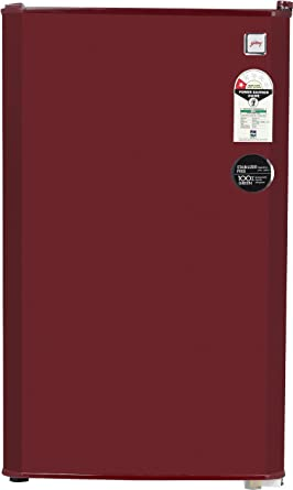 Godrej 99L 1 Star Direct Cool Single Door Refrigerator (RD CHAMP 114 WRF 1.2 WIN RED,…