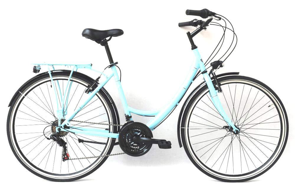Frank Bikes 28 Zoll Damen Fahrrad City Bike Rad CITYFAHRRAD DAMENFAHRRAD CITYRAD DAMENRAD Shimano 6 Gang Avenue Lady GRAU