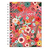 Studio Oh! Hardcover Spiral Journal, Secret Garden