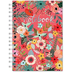 Spiral Notebook Secret Garden
