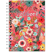 Studio Oh! Hardcover Medium Spiral Notebook Available in 9 Designs, Secret Garden