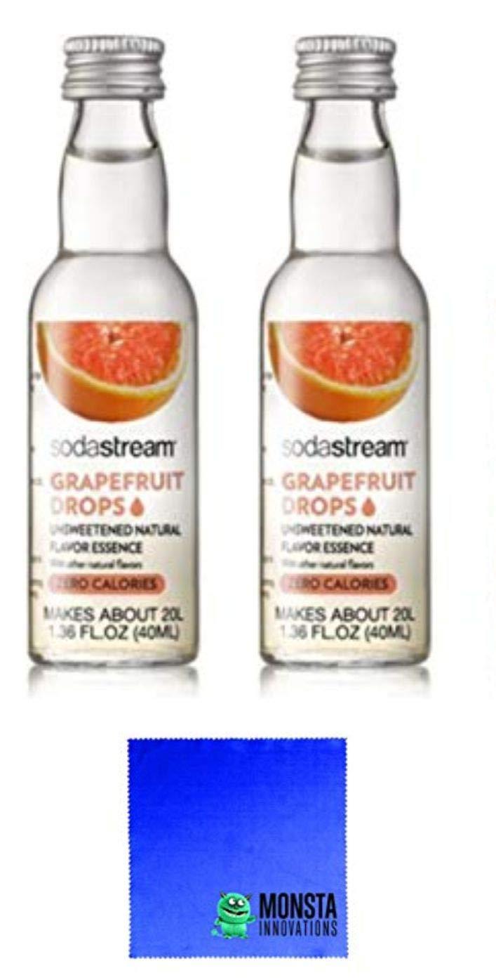 SodaStream Fruit Drops Grapefruit - 2 Pack by MonstaDeals