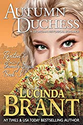 Autumn Duchess: A Georgian Historical Romance (Roxton Family Saga Book 3)