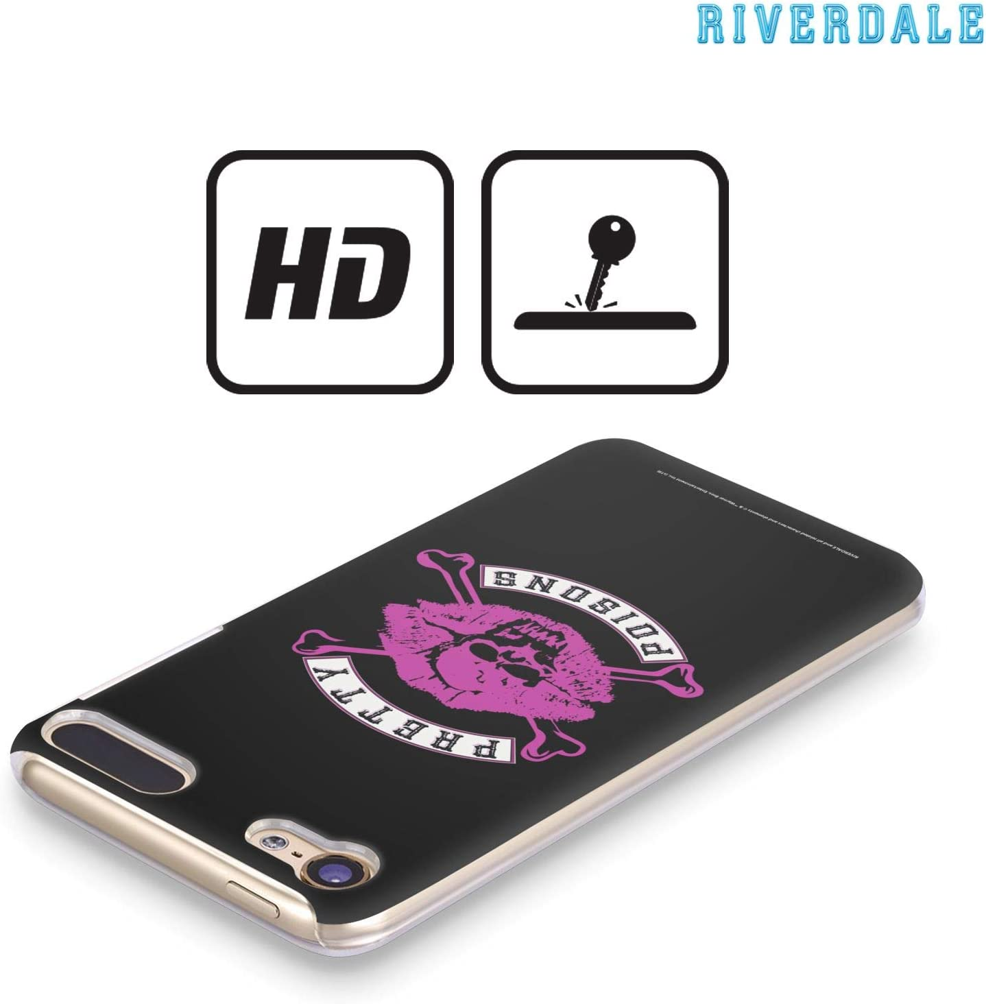 Official Riverdale South Side Serpents Graphic Art Hard Back Case Compatible for iPod Touch 5G 5th Gen