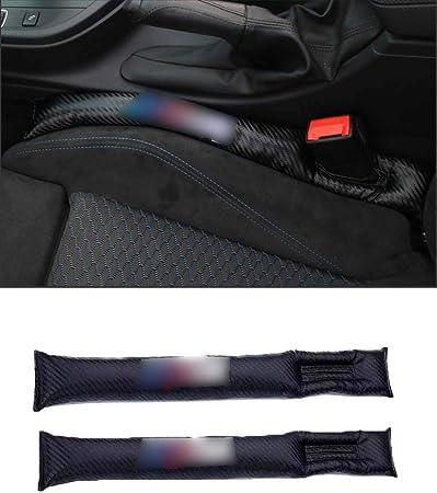Image ofXinshuo Almohadilla de cuero de la PU del relleno a prueba de fugas de Seat Gap para X1 X3 X5 X6 1/2/3/5/7 Serie 2 piezas