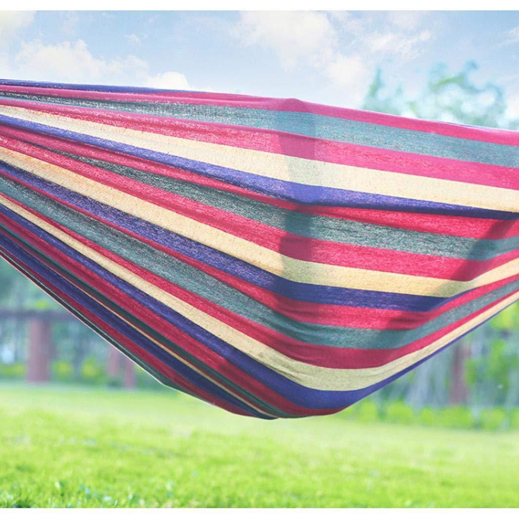 Gijoki Outdoor Casual Thicken Canvas Camping Park Hammock Hammocks