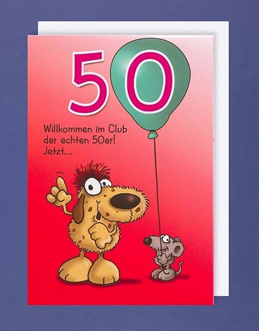 PopUp-Tarjeta de felicitación para 50 cumpleaños humor en el ...