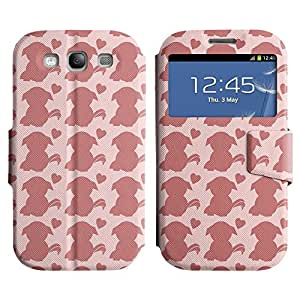 UNIQUE+ Slim Leather View Stand Case Apple iPhone 5C ( cute dog )