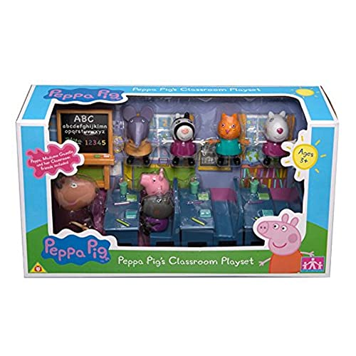 Character Options- Peppa Pig Playset- Un jour a l`ecole avec Peppa