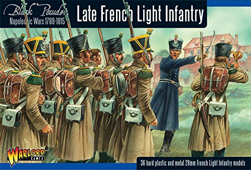 Napoleonic Late French Light Infantry Miniatures