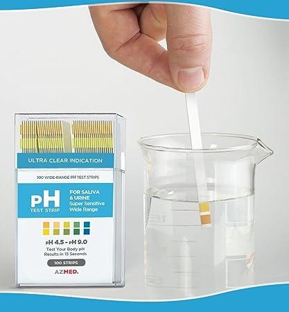 Amazon com : 100Ct  Defectless Popular pH Indicator Test Strips
