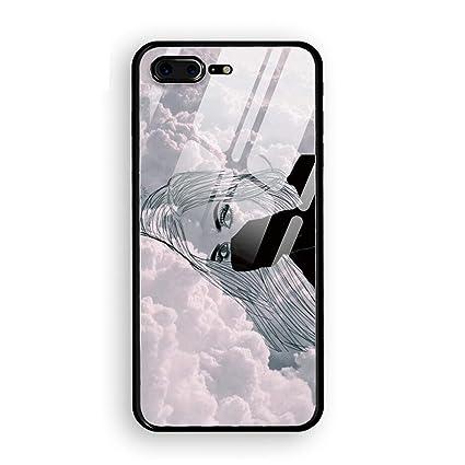 Amazon.com: Ebbfcbcfbadbba Luxury Printed iPhone 7/8 Plus ...