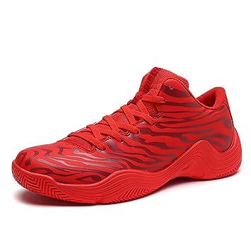 Zapatillas de deporte de los hombres Zapatos de baloncesto Suela ligera Zapatos atléticos Zapatos para caminar