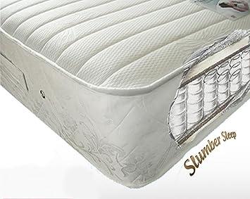 Stag Stores 6 ft Super King tamaño Imperial Lujo 1200 muelles ensacados colchón de Espuma con Efecto Memoria: Amazon.es: Hogar