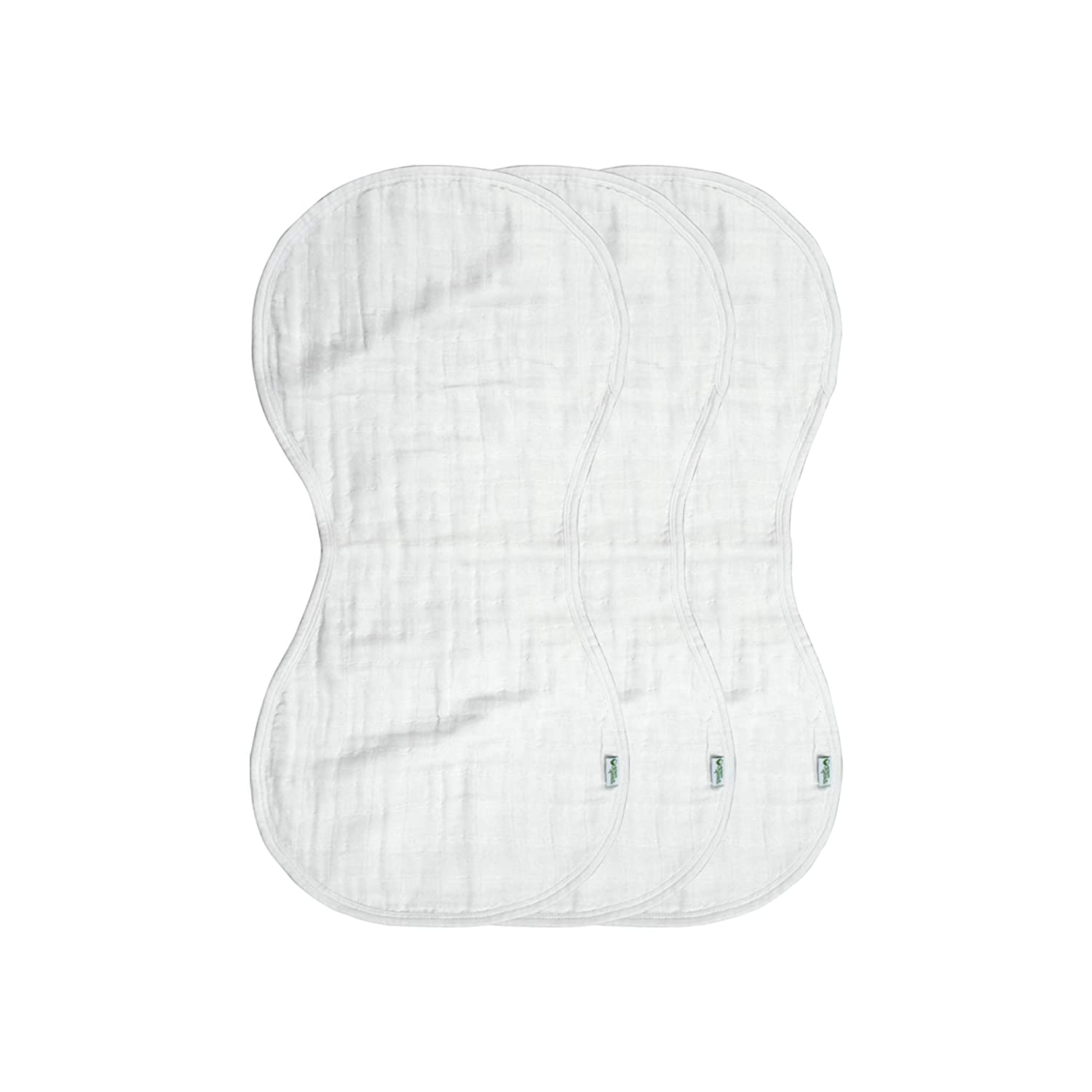 drips /& drools Super soft /& softer with every wash green sprouts Muslin Burp Cloths made from Organic Cotton 4 absorbent layers protect from sniffles 100/% organic cotton muslin Machine washable