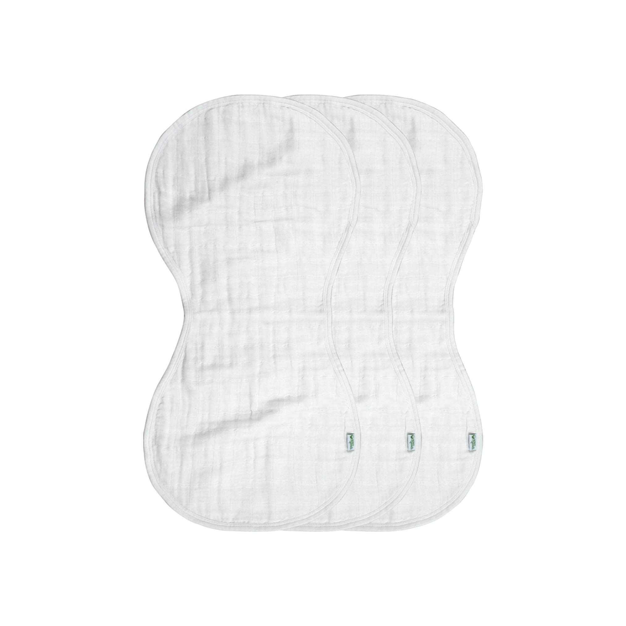 green sprouts Muslin Burp Cloths made from Organic