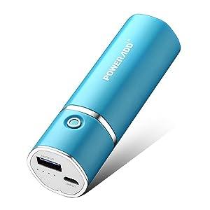 Poweradd MP-1311RR Slim2 - 5000mAh Cargador Portátil Batería Externa Power...
