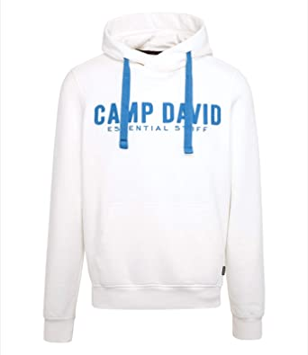 8357809b05da Camp David Sweatshirt with Hood Ivory Essential Stuff 2019 CCB-1900-3044-1