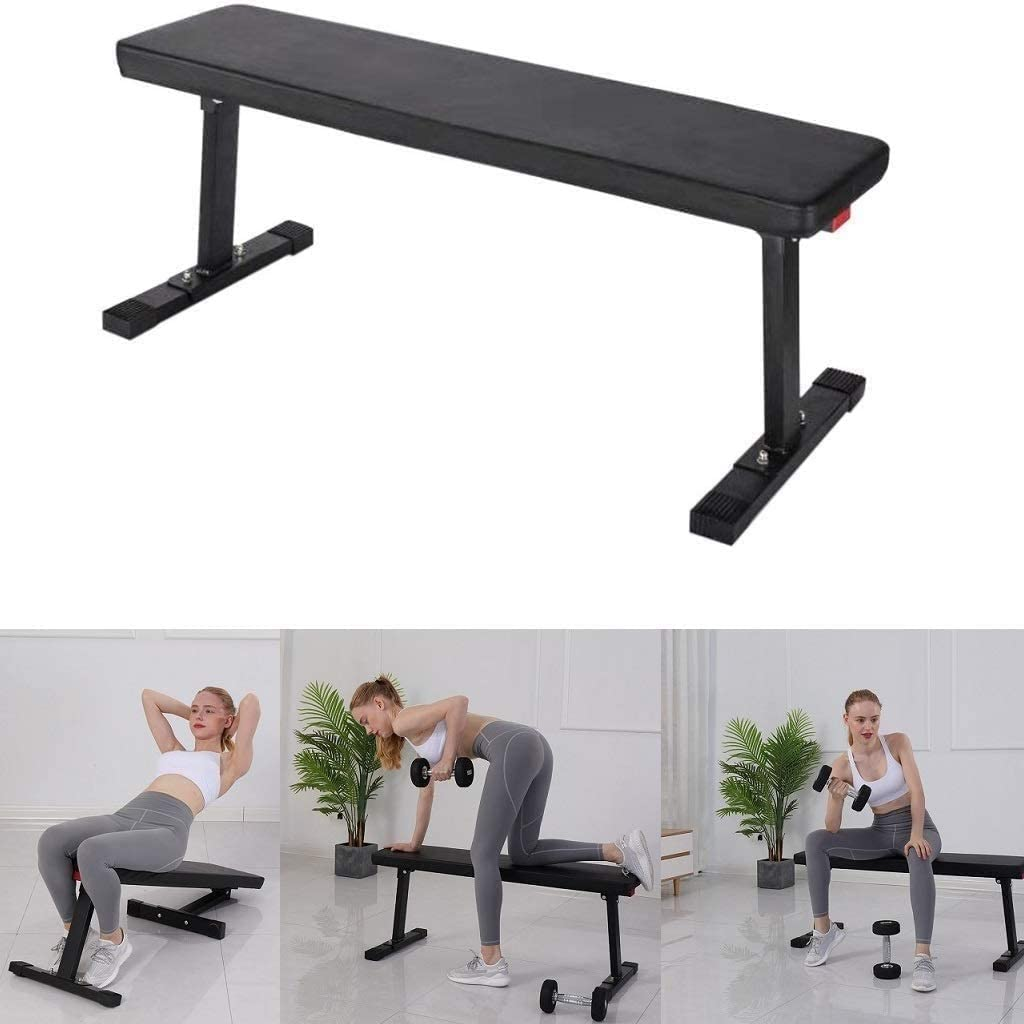 Adjustable Weight Bench,Flat Utility 600 lbs 41 Flat Bench Workout Utility Gym Bench for Full Body Workout Multi-Purpose Foldable Incline Decline Benchs Shirt Luv US in Stock