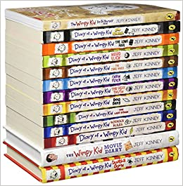Diary of a wimpy kid collection 13 books set double down old diary of a wimpy kid collection 13 books set double down old school hard luck third wheel cabin fever the ugly truth dog days do it yourself book solutioingenieria Gallery