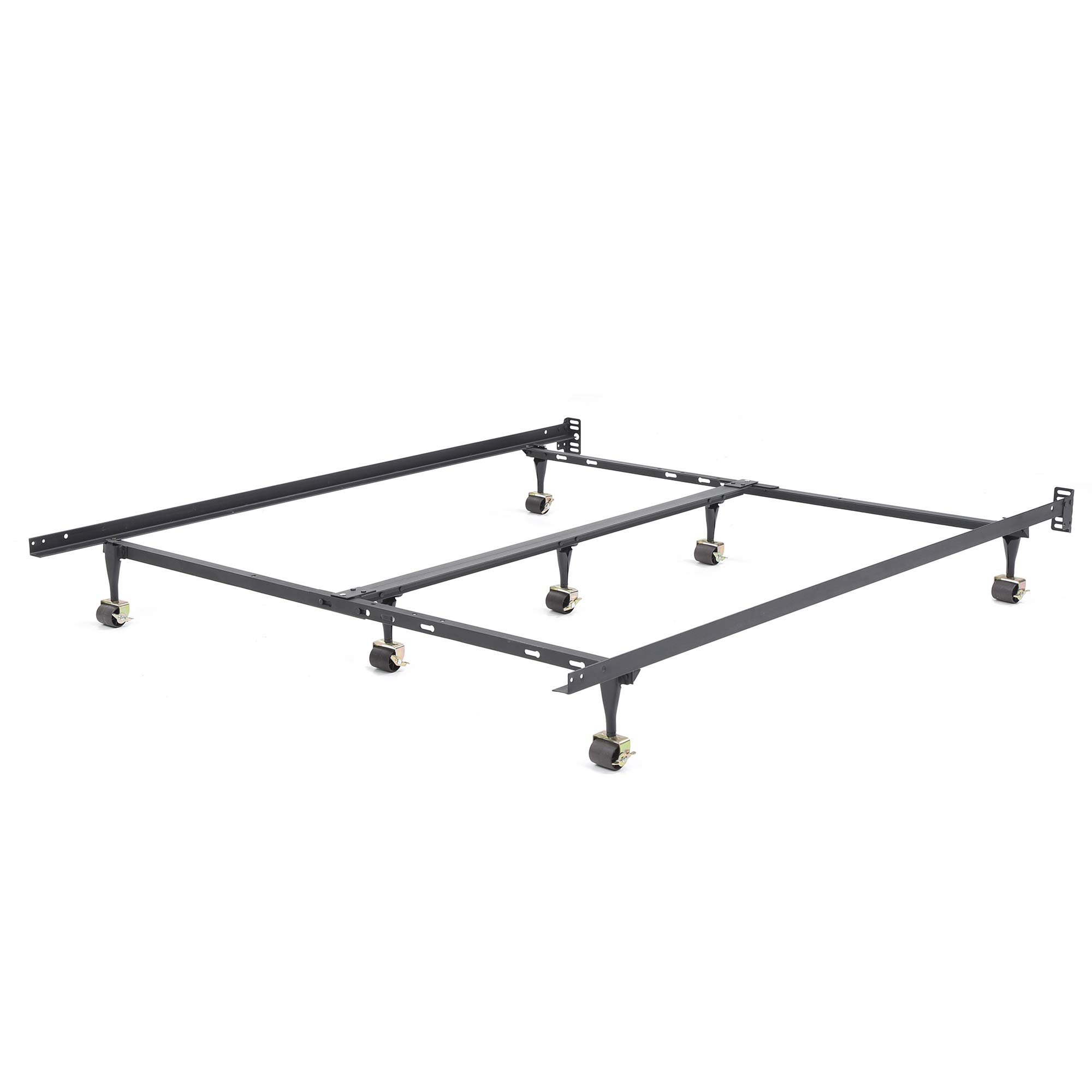 Classic Brands Hercules Universal Heavy-Duty Metal Bed Frame | Adjustable Width Fits Twin, Twin XL, Full, Queen, King, California King by Classic Brands