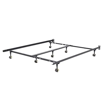 size 40 6827e dd1f1 Classic Brands Hercules Universal Heavy-Duty Metal Bed Frame | Adjustable  Width Fits Twin, Twin XL, Full, Queen, King, California King